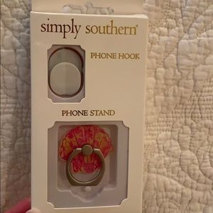 Simply southern phone hook and stand